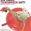 Protest gegen Tierfabriken in Schwerin