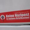 Braune Infopost in Schweriner Briefkästen