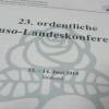 Anträge der Jusos Schwerin zur 23. ordentlichen Juso-Landeskonferenz